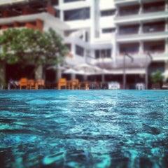 Photo taken at Patong Beach Hotel by Nik K. on 5/10/2012