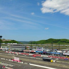 Photo taken at ツインリンクもてぎ (Twin Ring Motegi) by Masaya M. on 5/13/2012