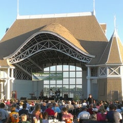 Photo taken at Lake Harriet Band Shell by Tony M. on 9/3/2012
