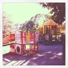 Photo taken at Barton Springs Playground by Park S. on 2/27/2012