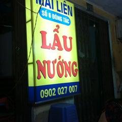 Photo taken at Hải sản chợ KimLiên by Joey L. on 9/8/2012