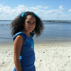 Photo taken at 5th Ave Pier & Bay Beach by Janine D. on 8/29/2012