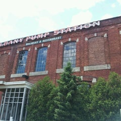 Photo taken at C.H. Evans Brewing Co. at the Albany Pump Station by Nicole B. on 6/23/2012