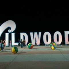 "Photo taken at ""Wildwoods"" Sign by basia on 7/28/2012"