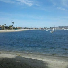 Photo taken at Mission Bay by Caitanya C. on 3/28/2012