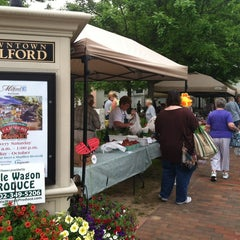 Photo taken at Milford Farmers Market by Melissa P. on 5/12/2012