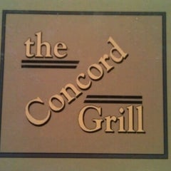 Photo taken at The Concord Grill by Christopher C. on 6/28/2012