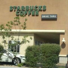 Photo taken at Starbucks by Julie B. on 4/27/2012