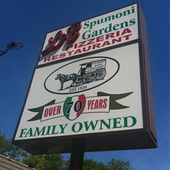 Photo taken at L&B Spumoni Gardens by J Geoff M. on 5/12/2012