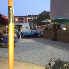 Photo taken at New York Avenue Beach Bar by Sheku R. on 7/7/2012