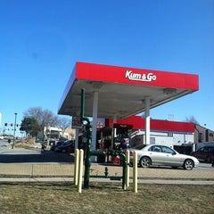 Photo taken at Kum & Go by Megan D. on 2/16/2012