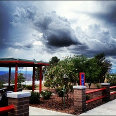 Photo taken at Sunset Point Rest Stop by Sylvia R. on 8/18/2012