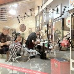 Photo taken at Barbearia 9 de Julho by Caroline S. on 7/7/2012
