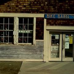 Photo taken at Bike Barn by Jennifer P. on 3/18/2012