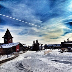 Photo taken at Mount Snow Main Base Lodge by Junior C. on 7/21/2012