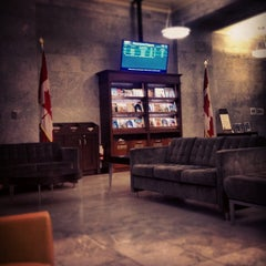 Photo taken at VIA Rail Business Lounge - Union Station by Audunn J. on 8/24/2012