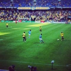 Photo taken at Brøndby Stadion by Stefan Frank t. on 8/12/2012