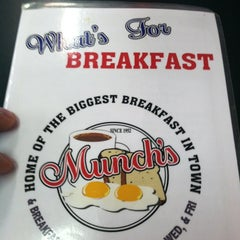 Photo taken at Munch's Restaurant by Matt S. on 5/27/2012