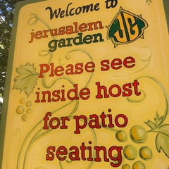 Photo taken at Jerusalem Garden by Curtis S. on 8/23/2012