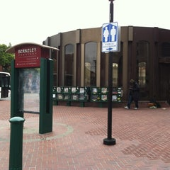 Photo taken at Downtown Berkeley BART Station by Rosemarie M. on 2/29/2012