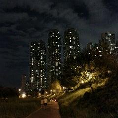 Photo taken at 양재천 산책로 (Yangjaecheon Trails) by SangJun J. on 3/18/2012