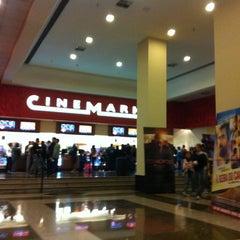 Photo taken at Cinemark by Natália on 6/26/2012
