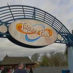 Photo taken at Thorpe Park by Kayleigh C. on 4/11/2012