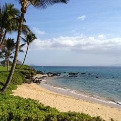 Photo taken at Kamaole Beach Park I by Bruno F. on 8/17/2012