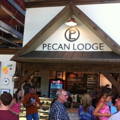 Photo taken at Pecan Lodge by Branden W. on 7/21/2012