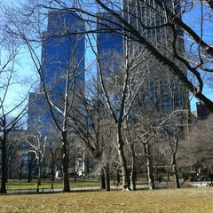 Photo taken at Central Park - Pat Hoffman Friedman Playground by Fernanda A. on 2/26/2012