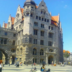 Photo taken at Burgplatz by Peter C. on 5/25/2012