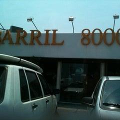 Photo taken at Barril 8000 by Jony V. on 2/25/2012