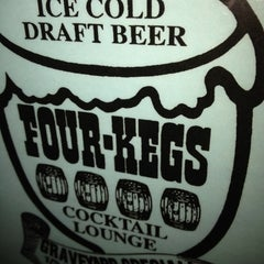 Photo taken at Four Kegs Sports Pub by Martin W. on 6/17/2012
