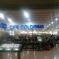 Photo taken at Cine Colombia by Mauricio D. on 7/27/2012