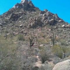 Photo taken at Pinnacle Peak Park by VOULA M. on 3/31/2012