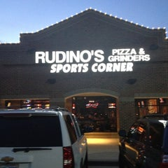 Photo taken at Rudino's Pizza & Grinders by Mark H. on 2/9/2012