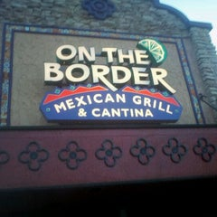 Photo taken at On The Border Mexican Grill & Cantina by Carlos P. on 2/19/2012