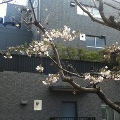 Photo taken at 稲荷坂 by Taku 目. on 4/4/2012