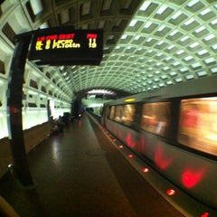 Photo taken at Crystal City Metro Station by M Dean J. on 6/26/2012