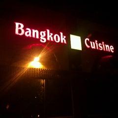 Photo taken at Bangkok Cuisine by Ka T. on 9/3/2012