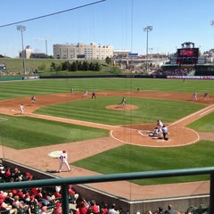 Photo taken at Hawks Field at Haymarket Park by Nathan A. on 3/24/2012