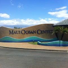 Photo taken at Maui Ocean Center, The Hawaiian Aquarium by Elodie P. on 5/12/2012