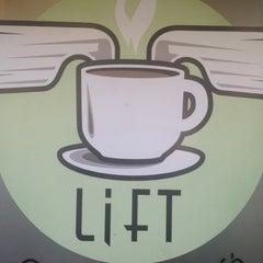 Photo taken at Lift Coffee Shop & Café by Kevin J. on 7/6/2012