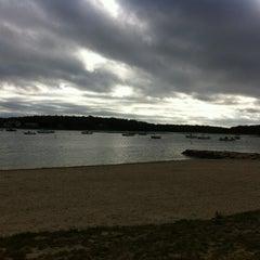 Photo taken at Barlow's landing beach by Elaina R. on 6/18/2012