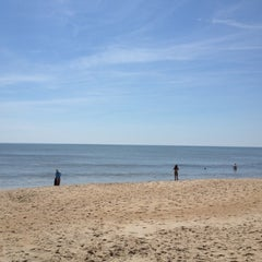 Photo taken at 90th St Beach by Colton P. on 6/9/2012