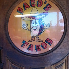 Photo taken at Paco's Tacos by the sour notes on 5/6/2012