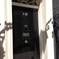 Photo taken at 10 Downing St. by Mark S. on 6/29/2012