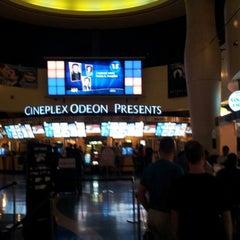 Photo taken at Cineplex Odeon Queensway Cinemas by Scott D. on 8/3/2012