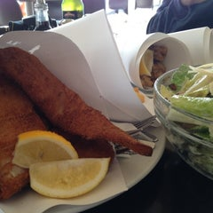 Photo taken at Fish' N Chips by Shuwen C. on 5/22/2012
