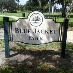 Photo taken at Blue Jacket Park by Laura B. on 9/7/2012